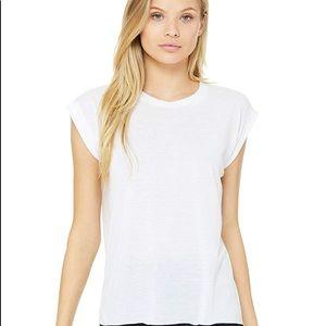 Tops - Rigged cuff Bella canvas tshirt